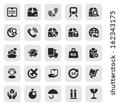 set of icons isolated for...   Shutterstock .eps vector #162343175