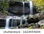 Slow shutterspeed photo of waterfall