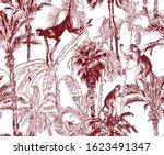 Seamless Pattern Wildlife...