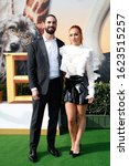 """Small photo of LOS ANGELES - JAN 11: Seth Rollins, Becky Lynch at the """"Dolittle"""" Premiere at the Village Theater on January 11, 2020 in Westwood, CA"""