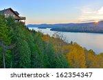 Lake Sacacomie During Foliage...