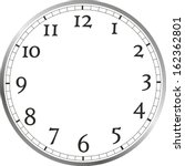 watch face with different... | Shutterstock . vector #162362801