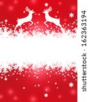 greeting christmas card with... | Shutterstock .eps vector #162363194