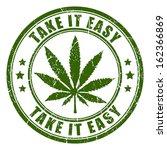 Cannabis rastaman vector stamp