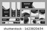 set of creative web banners of... | Shutterstock .eps vector #1623820654