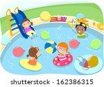 Illustration Of Kids Having A...