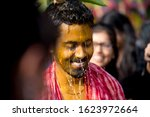 indian bengali groom in smile... | Shutterstock . vector #1623972664
