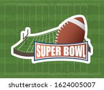 superbowl sport poster with... | Shutterstock .eps vector #1624005007