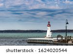 Torch Lake Lighthouse At The...