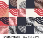 abstract naive pattern design... | Shutterstock .eps vector #1624117591