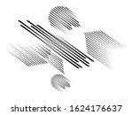 sideling speed lines.black... | Shutterstock . vector #1624176637