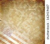 grunge military background.... | Shutterstock . vector #162419687