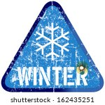 auto,blizzard,car,grungy,highway,ice,icy,road,season,sign,snow,storm,symbol,traffic,transport