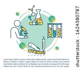oncology research concept icon...   Shutterstock .eps vector #1624380787