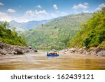 Rafting On The Bhote Koshi  In...