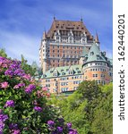Chateau Frontenac With Violet...