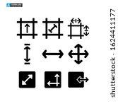 maximize tools icon isolated...