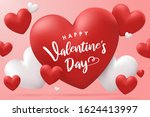 happy valentine's day...   Shutterstock .eps vector #1624413997