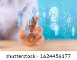 networks   business connections ...   Shutterstock . vector #1624456177