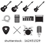 Постер, плакат: Set of different rock