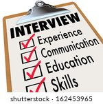 interview checklist job...   Shutterstock . vector #162453965