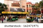 Постер, плакат: Auto rickshaw taxis &