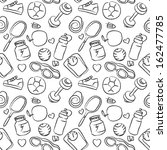 seamless sketchy pattern of... | Shutterstock .eps vector #162477785