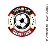 soccer football badge logo... | Shutterstock .eps vector #1624800817