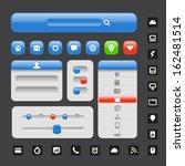 web design elements template