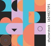 modern artwork of abstract... | Shutterstock .eps vector #1624827391