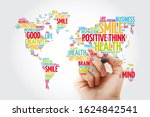 Positive Thinking Word Cloud In ...