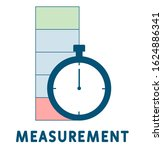 measurement icon. outline...