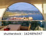 View Of The Old Town Budva In...