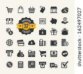 web icon set   shopping  money  ...