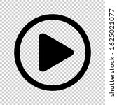 circle play icon for video...
