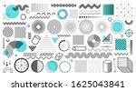universal trend halftone... | Shutterstock .eps vector #1625043841