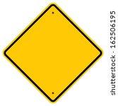 warning sign | Shutterstock . vector #162506195