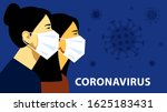 coronavirus in china. novel... | Shutterstock .eps vector #1625183431