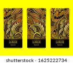 set of templates luxury product ... | Shutterstock .eps vector #1625222734