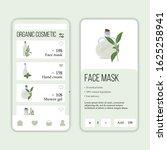 vector herb cosmetic shop...