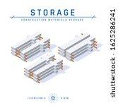 concrete columns  storage... | Shutterstock .eps vector #1625286241