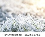 Winter Background Of Frosty...