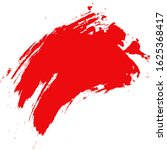background texture red brush... | Shutterstock . vector #1625368417