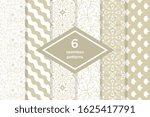 seamless geometric vector... | Shutterstock .eps vector #1625417791