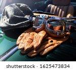British Racing Cap  Gloves And...