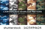 set camouflage military... | Shutterstock .eps vector #1625494624