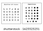icon set themed user interface. ...