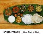 Traditional Food Onam Sadya...