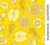 seamless pattern made of... | Shutterstock .eps vector #162569354