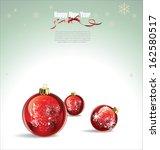 christmas background | Shutterstock .eps vector #162580517